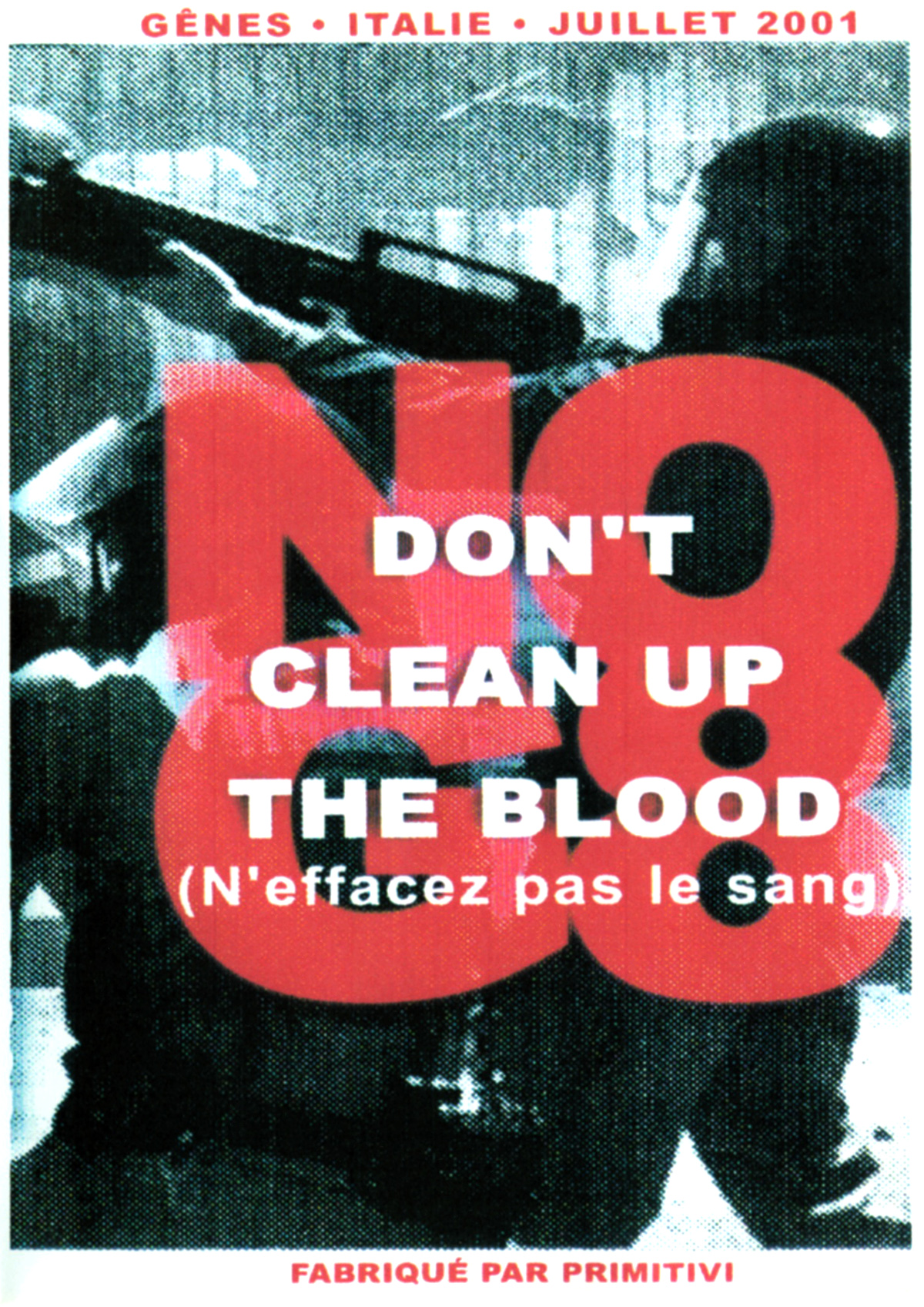 Don't clean up the blood