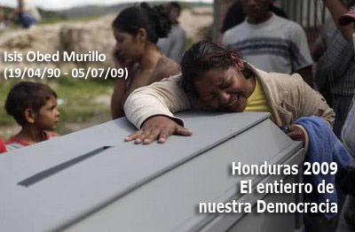Honduras : Vague de répression sanglante depuis le coup d'Etat du 28 juin  dans Amerique latine Entierro-896d4